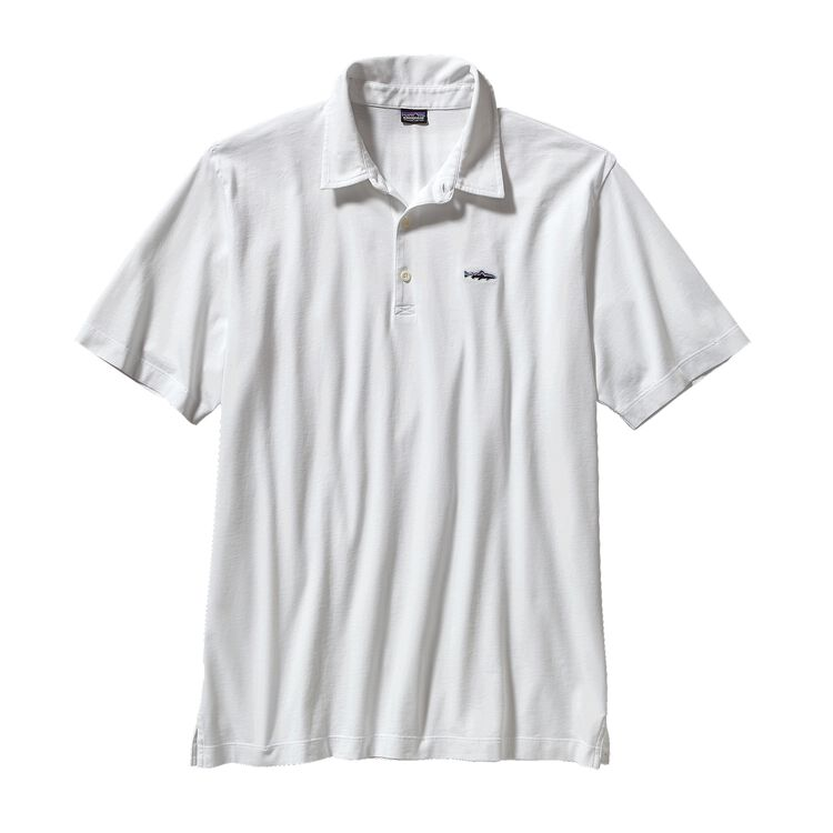 M'S POLO - TROUT FITZ ROY, White (WHI-725)