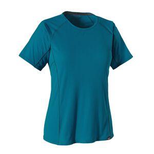 ウィメンズ・キャプリーン・ライトウェイト・Tシャツ, Underwater Blue (UWTB)
