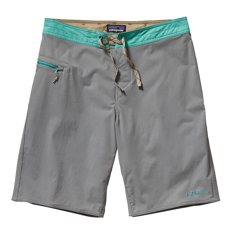 M'S STRETCH WAVEFARER BOARD SHORTS - 21, Feather Grey (FEA)