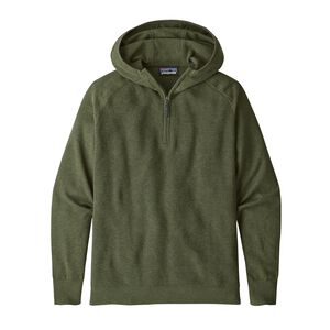 M's Long-Sleeved Yewcrag Hoody, Industrial Green (INDG)