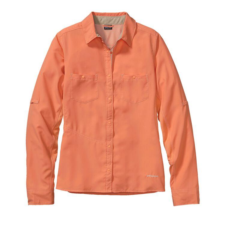 W'S L/S SOL PATROL SHIRT, Peach Sherbet (PCHS)