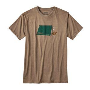 メンズ・ナッピング・キャンパー・コットン/ポリ・Tシャツ, Mojave Khaki (MJVK)