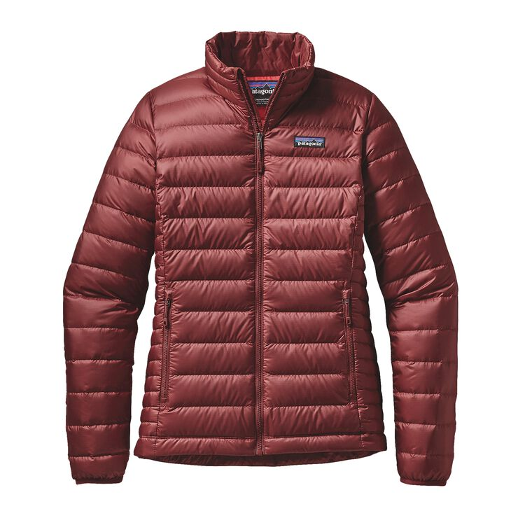 W'S DOWN SWEATER, Drumfire Red (DRMF)