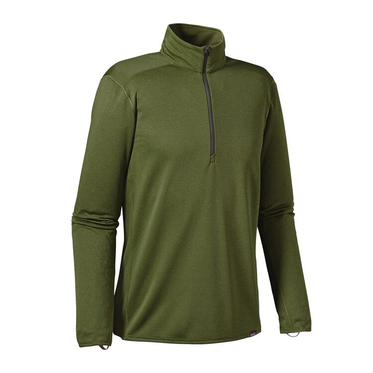 メンズ・キャプリーン・ミッドウェイト・ジップネック, Buffalo Green - Nouveau Green X-Dye (BNVX)