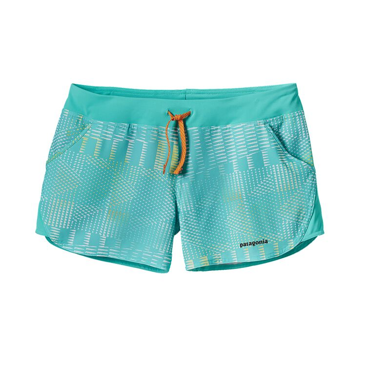 W'S NINE TRAILS UNLINED SHORTS, Shadow Pop: Howling Turquoise (SHWQ)