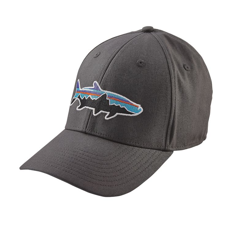 FITZ ROY TARPON STRETCH FIT HAT, Forge Grey (FGE)