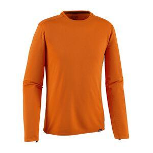 M's Capilene® Midweight Crew, Campfire Orange - Sporty Orange X-Dye (CSOX)