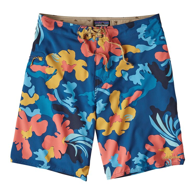M'S STRETCH PLANING BOARDSHORTS - 20 IN., Cloudbreak: Superior Blue (CKSB)