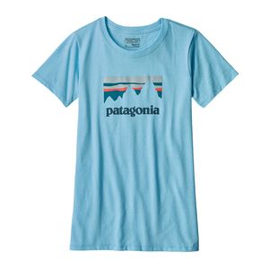 W's Shop Sticker Cotton/Poly Responsibili-Tee®, Cuban Blue (CUBB)