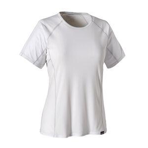 ウィメンズ・キャプリーン・ライトウェイト・Tシャツ, White (WHI)