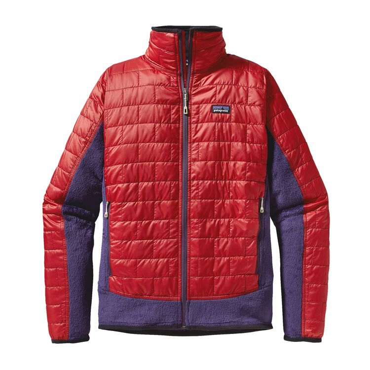 M'S NANO PUFF HYBRID JKT, Cochineal Red (COCR)