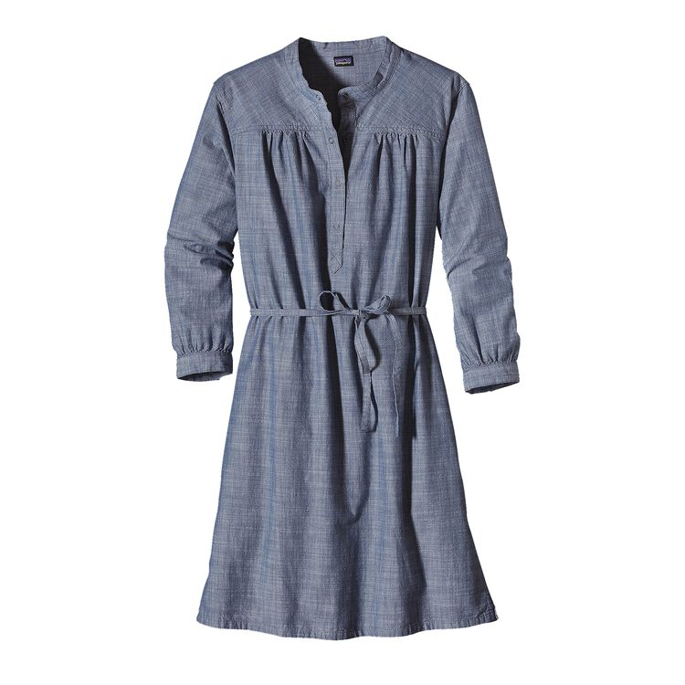 W'S SETTLER'S DRESS, Chambray: Dark Railroad Blue (CDRB)