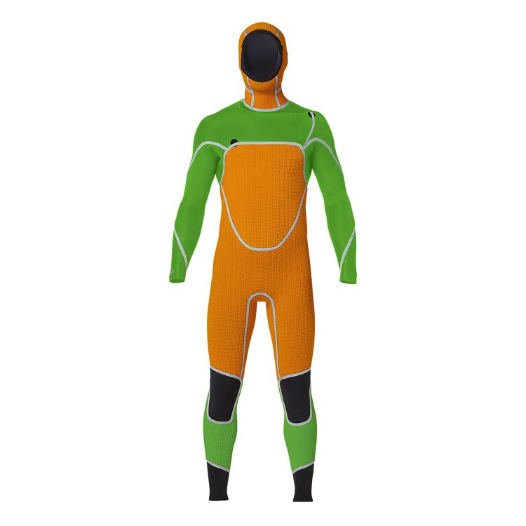 M's R3™ Yulex™ Front-Zip Hooded Full Suit,