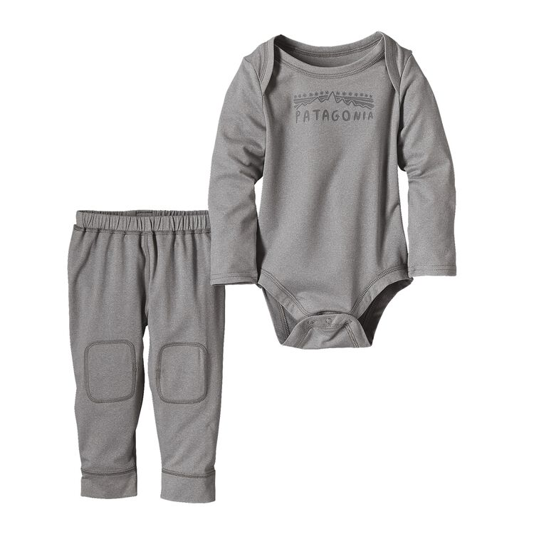 INFANT CAP SET, Drifter Grey (DFTG)