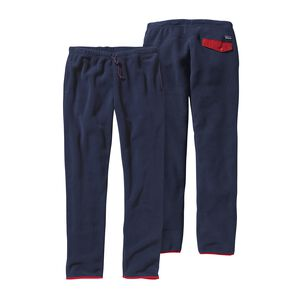 M's Synchilla® Snap-T® Pants, Navy Blue w/Classic Red (NVCR)