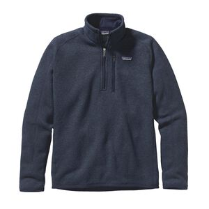 M's Better Sweater™ 1/4-Zip Fleece, Classic Navy (CNY)
