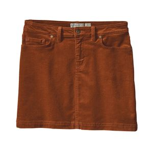 W's Corduroy Skirt, Saddle (SDL)