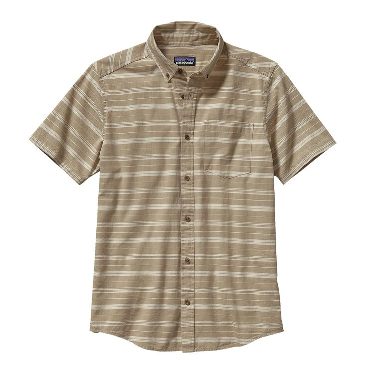 M'S BLUFFSIDE SHIRT, Sundown: Ash Tan (SDAT)