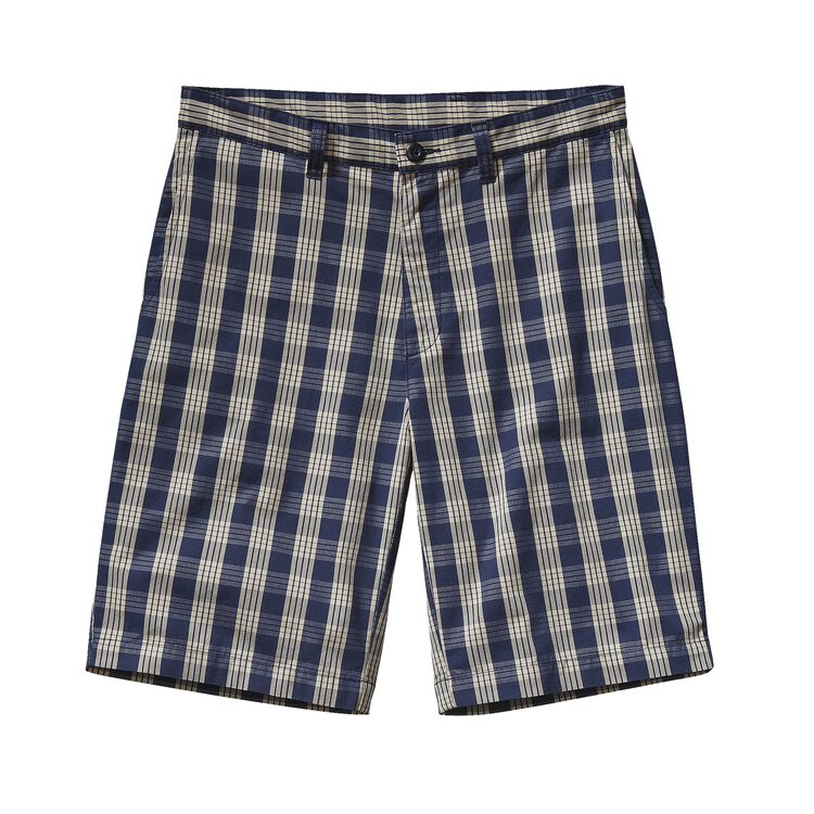 M'S ALL-WEAR SHORTS - 10 IN., Palaka: Navy Blue (PLKB)