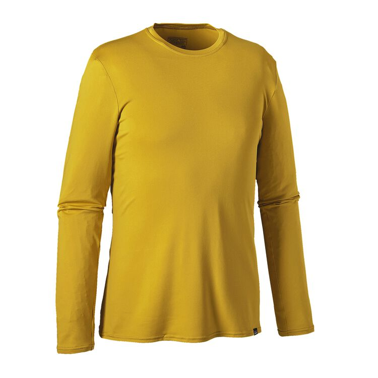 M'S L/S CAP DAILY T-SHIRT, Sulphur Yellow (SULY)