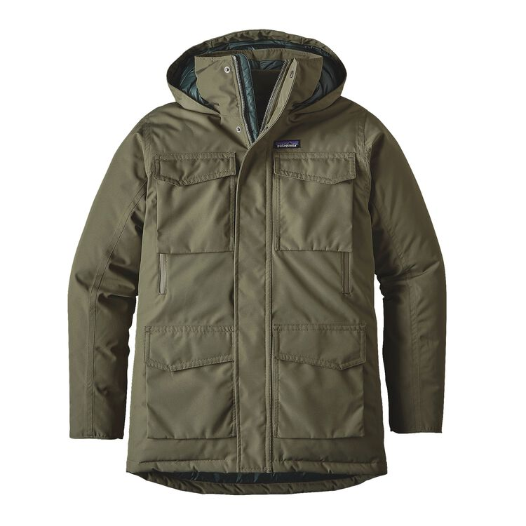 M'S THUNDER CLOUD DOWN PARKA, Industrial Green (INDG)