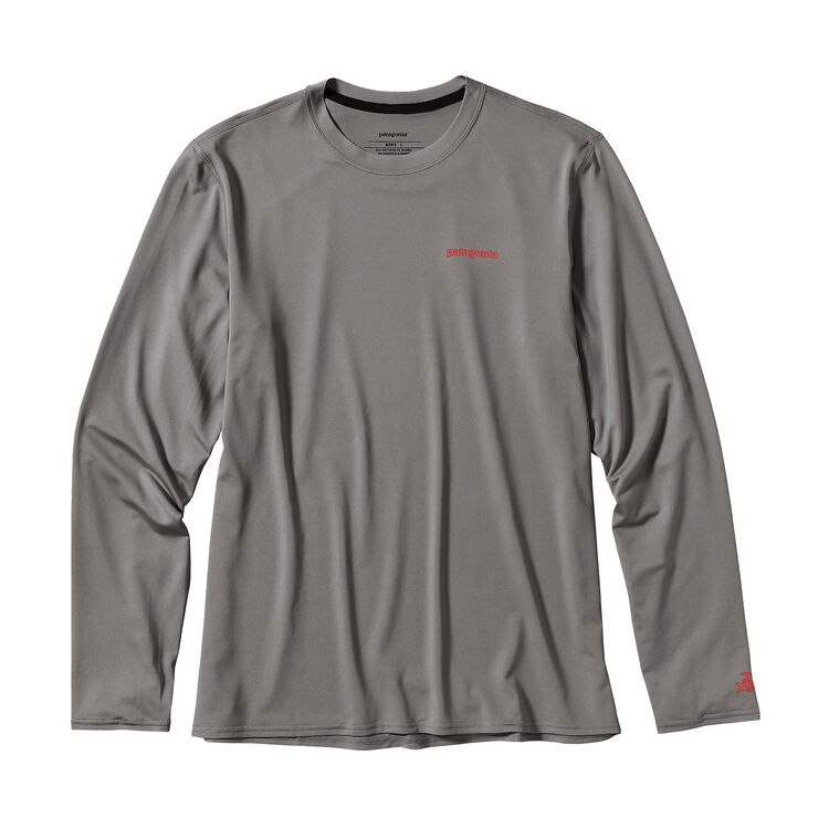 M'S L/S R0 SUN TEE, Feather Grey (FEA)