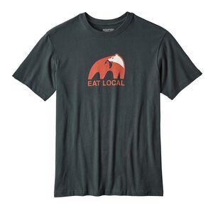メンズ・イート・ローカル・アップストリーム・コットン・Tシャツ, Carbon (CAN)