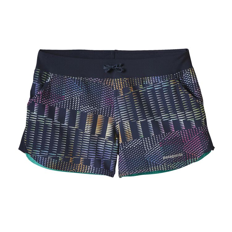 W'S NINE TRAILS UNLINED SHORTS, Shadow Pop: Navy Blue (SWNV)
