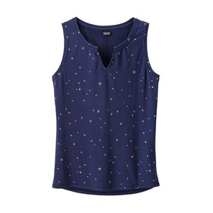 W's Shallow Seas Tank Top, Mica Pop: Classic Navy/Rosewater (MICR)