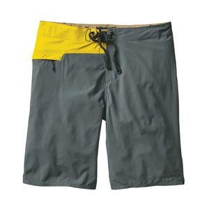 "M's Stretch Hydro Planing Board Shorts - 21"", Nouveau Green (NUVG)"