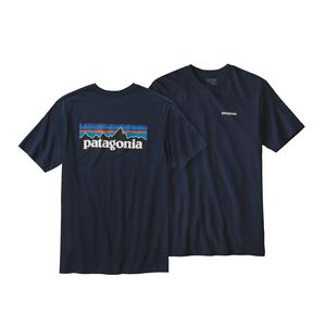 M's P-6 Logo Cotton T-Shirt, Navy Blue (NVYB)