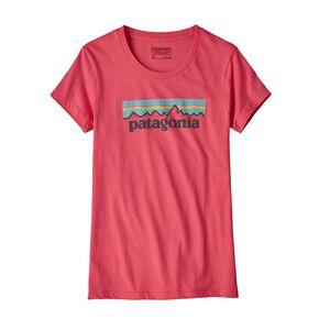 Girls' Pastel P-6 Logo Organic T-Shirt, Sierra Pink (SRAP)