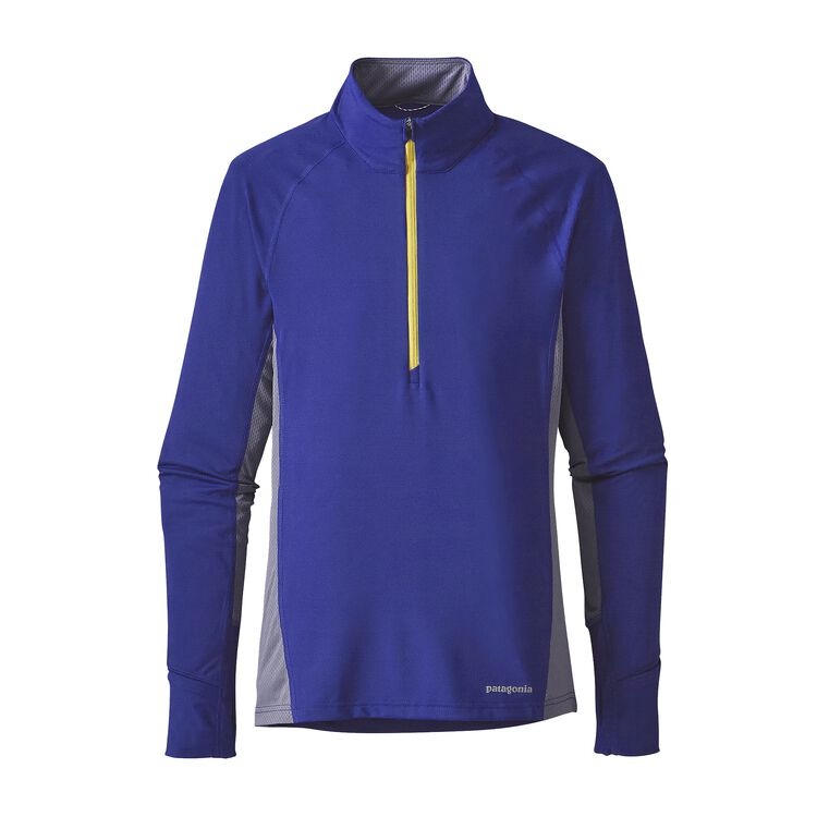 W'S ALL WEATHER ZIP NECK, Harvest Moon Blue (HMB)