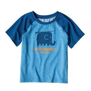 ベビー・キャプリーン・シルクウェイト・Tシャツ, Radar Blue (RAD)