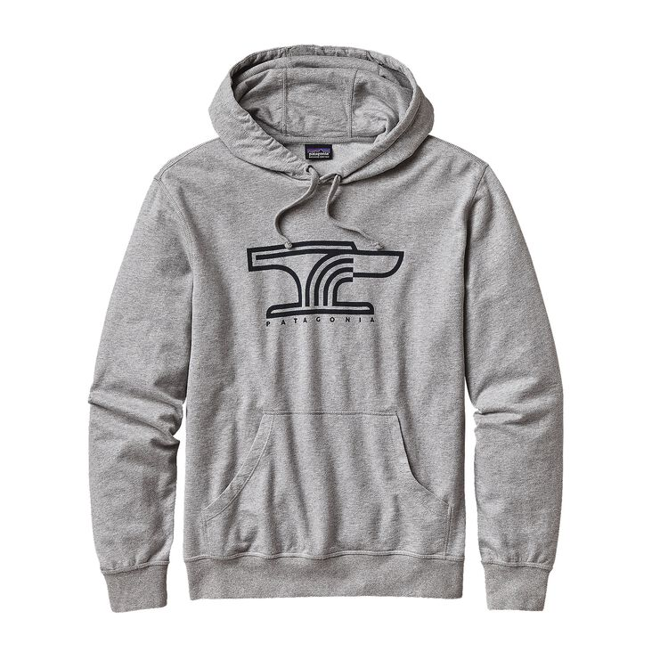 M'S ANVIL LW P/O HOODED SWEATSHIRT, Feather Grey (FEA)