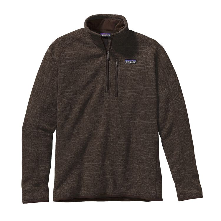 M'S BETTER SWEATER 1/4 ZIP, Dark Walnut (DWA)