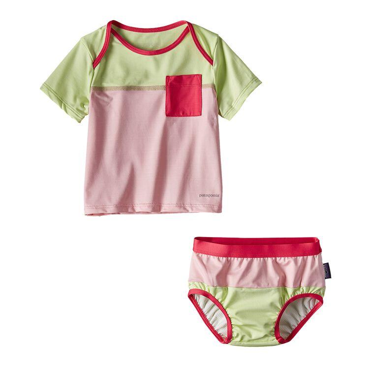インファント・リトル・ソル・スイムセット, Feather Pink (FEAP)