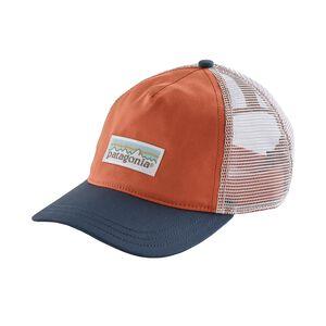 W's Pastel P-6 Label Layback Trucker Hat, Quartz Coral (QZCO)