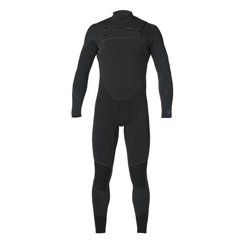 メンズ・R1ユーレックス・フロントジップ・フルスーツ/USモデル, Black (BLK)