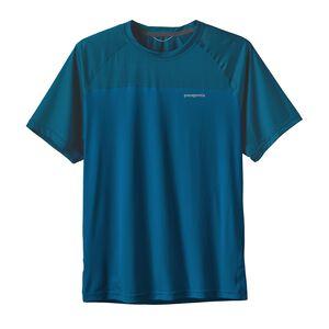 メンズ・ショートスリーブ・ウインドチェイサー・シャツ, Andes Blue (ANDB)