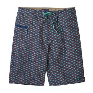 "M's Stretch Wavefarer® Boardshorts - 21"", Batik Hex Small Multi: Superior Blue (BKSU)"