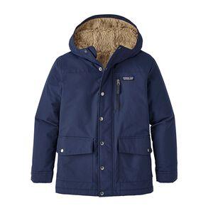 Boys' Infurno Jacket, Navy Blue w/El Cap Khaki (NVEC)