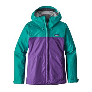 W's Torrentshell Jacket, True Teal (TRUT)