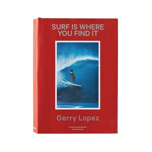 Surf is Where You Find It (Revised and Expanded) by Gerry Lopez (Patagonia hardcover book), multi (multi-000)