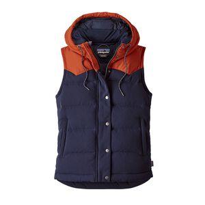 W's Bivy Hooded Vest, Navy Blue (NVYB)