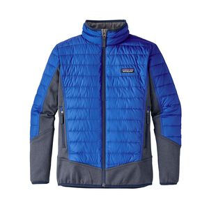 Boys' Down Hybrid Jacket, Viking Blue (VIK)
