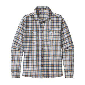 M's Long-Sleeved Steersman Shirt, Anchor: Big Sur Blue (ABIS)
