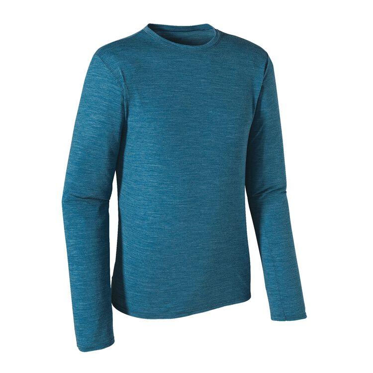 M'S L/S MERINO DAILY T-SHIRT, Underwater Blue (UWTB)