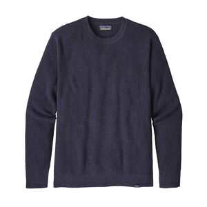 M's Long-Sleeved Yewcrag Crew, Classic Navy (CNY)