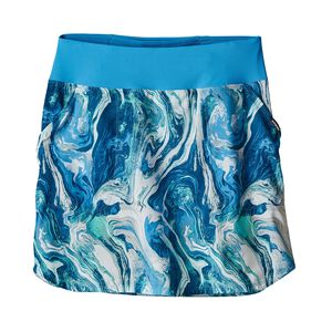 W's Tech Fishing Skort, Rivermouth: Radar Blue (RRDB)